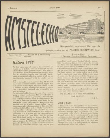 Amstel - Echo 1949-01-01
