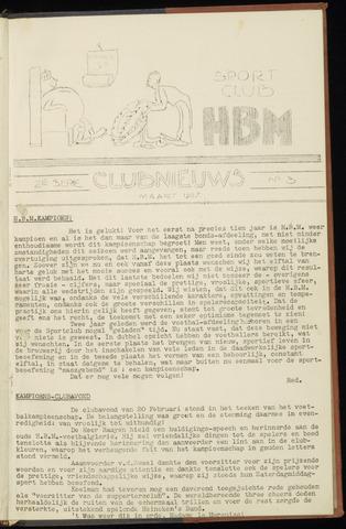 Sportclub H.B.M. Clubnieuws 1937-03-01