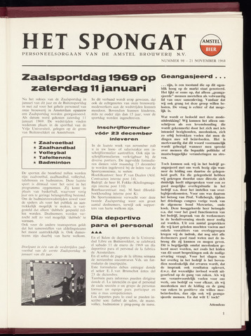 Amstel - Het Spongat 1968-11-21