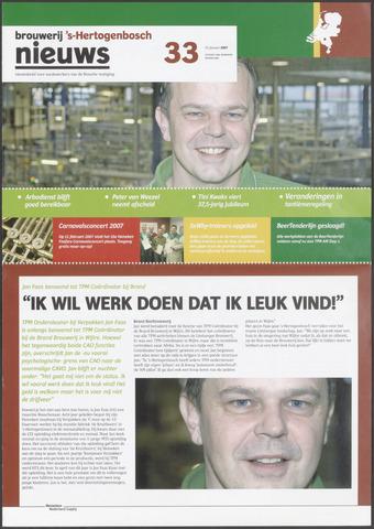 Heineken Brouwerij Nieuws 2007-01-25