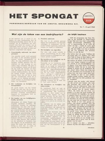 Amstel - Het Spongat 1965-04-08