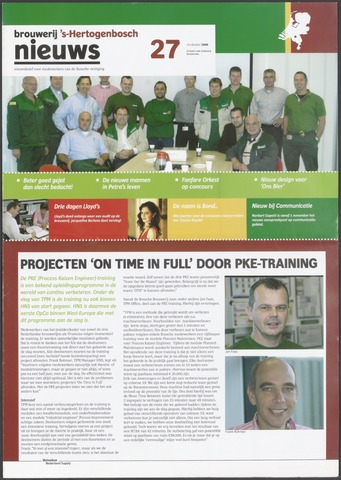Heineken Brouwerij Nieuws 2006-10-19