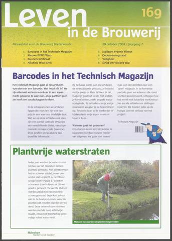 Heineken - Leven in de Brouwerij 2003-10-29