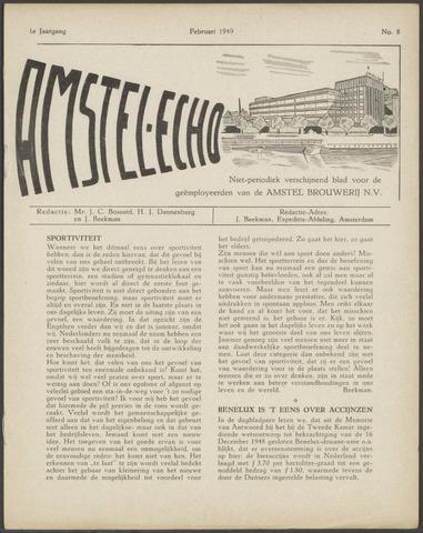 Amstel - Echo 1949-02-01