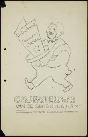 Sportclub H.B.M. Clubnieuws 1950-02-01
