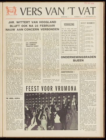 Vers van 't Vat 1970-09-17