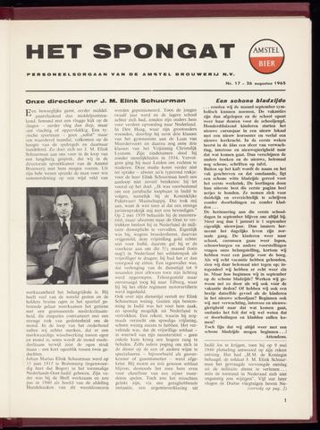Amstel - Het Spongat 1965-08-26