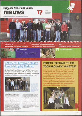HNL - Supply Nieuws 2008-05-02