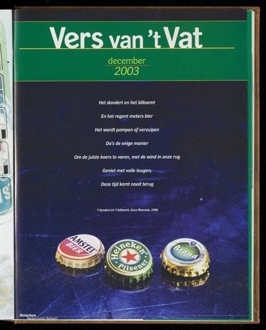 Vers van 't Vat 2003-12-01