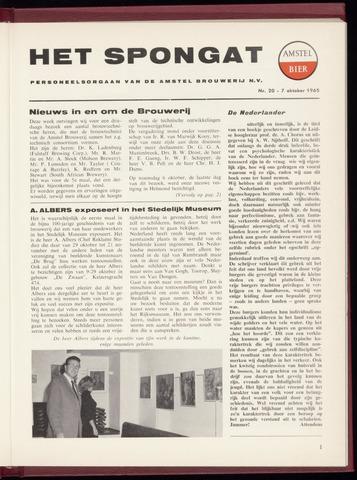 Amstel - Het Spongat 1965-10-07