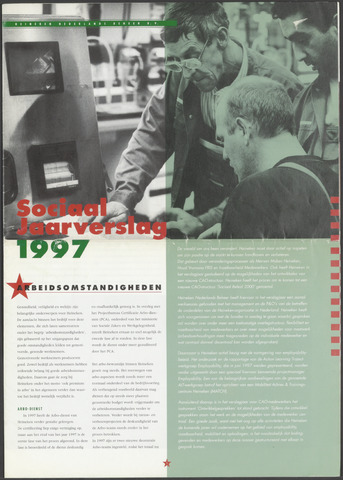 Heineken - Sociaal Jaarverslag 1997-01-01