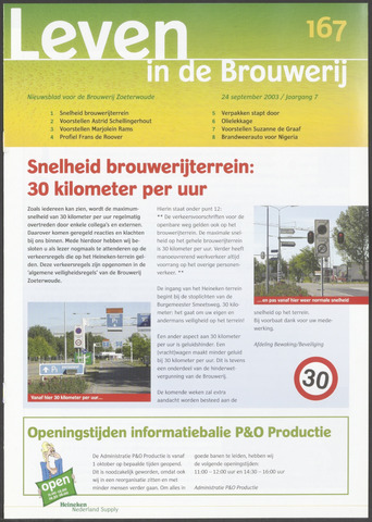 Heineken - Leven in de Brouwerij 2003-09-24