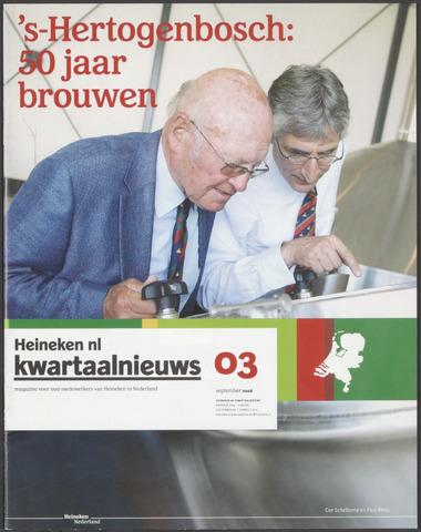 HNL kwartaalnieuws 2008-09-01