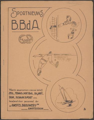 Amstel - BBdA Sportnieuws 1941