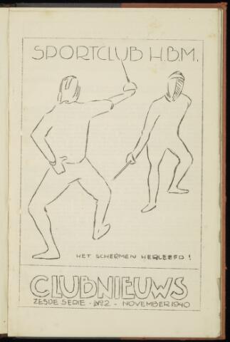 Sportclub H.B.M. Clubnieuws 1940-11-01