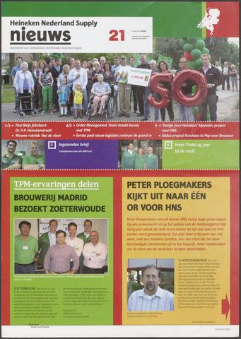 HNL - Supply Nieuws 2008-08-01