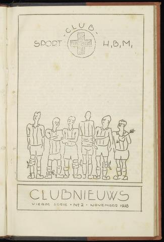 Sportclub H.B.M. Clubnieuws 1938-11-01