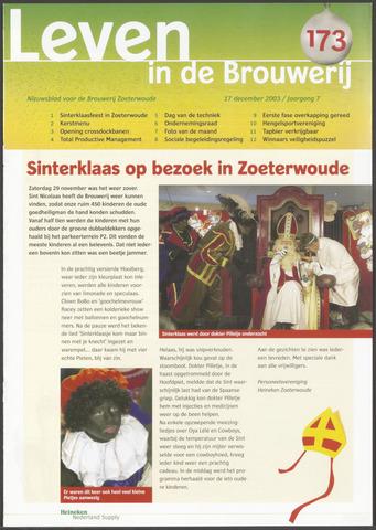 Heineken - Leven in de Brouwerij 2003-12-17