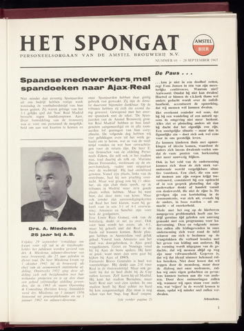 Amstel - Het Spongat 1967-09-28