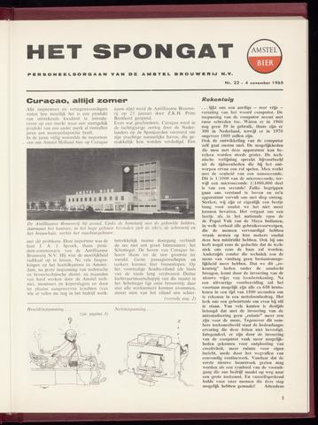 Amstel - Het Spongat 1965-11-04