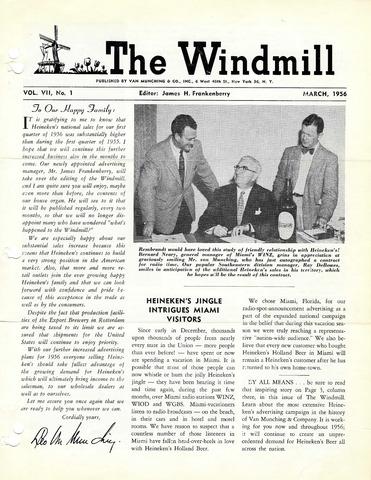 The Windmill 1956-03-01