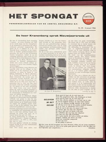 Amstel - Het Spongat 1966