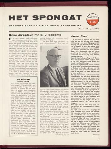 Amstel - Het Spongat 1965-08-12
