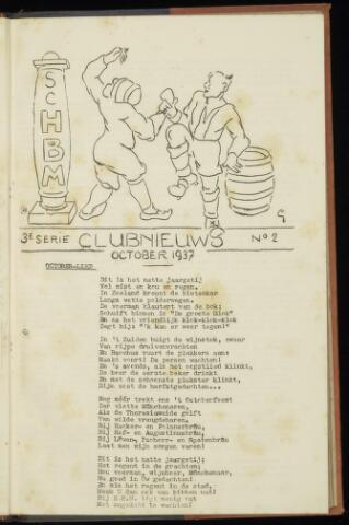 Sportclub H.B.M. Clubnieuws 1937-10-01