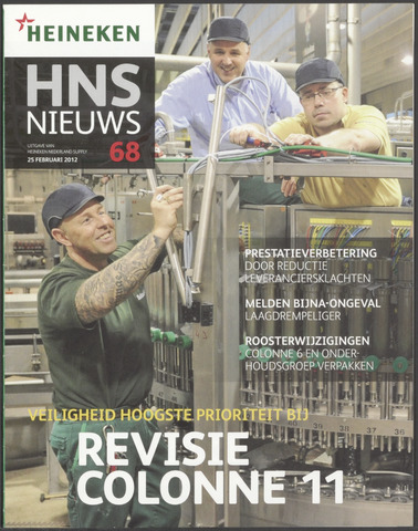 HNL - Supply Nieuws 2012-02-25