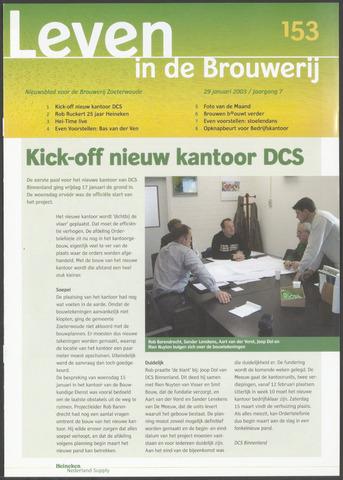 Heineken - Leven in de Brouwerij 2003-01-29
