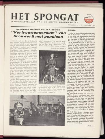 Amstel - Het Spongat 1967-02-09