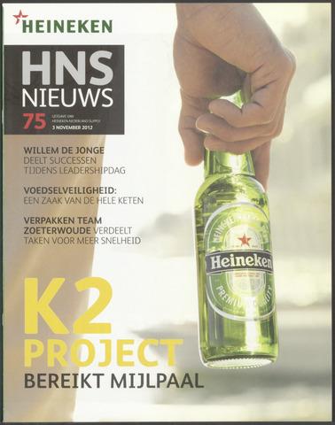 HNL - Supply Nieuws 2012-11-03