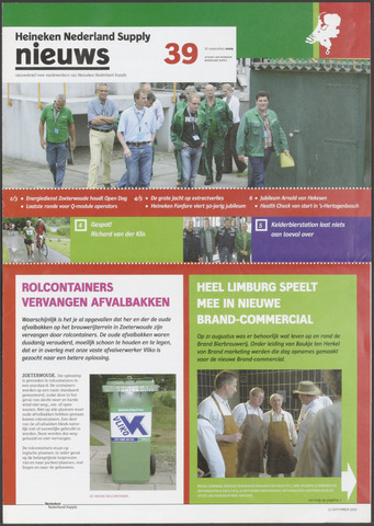HNL - Supply Nieuws 2009-09-25