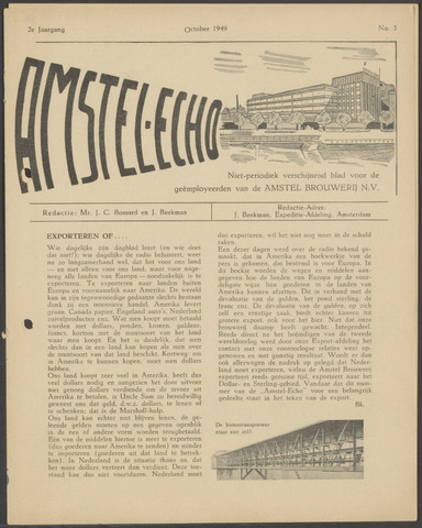 Amstel - Echo 1949-10-01