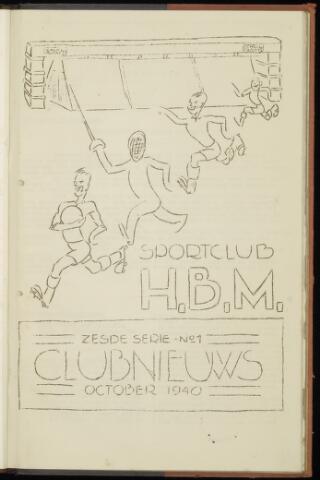 Sportclub H.B.M. Clubnieuws 1940-10-01