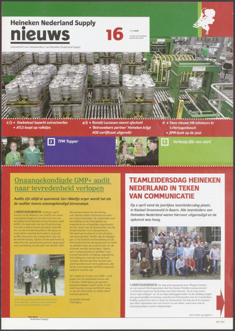 HNL - Supply Nieuws 2008-05-01