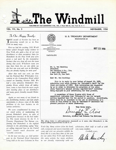 The Windmill 1956-11-01