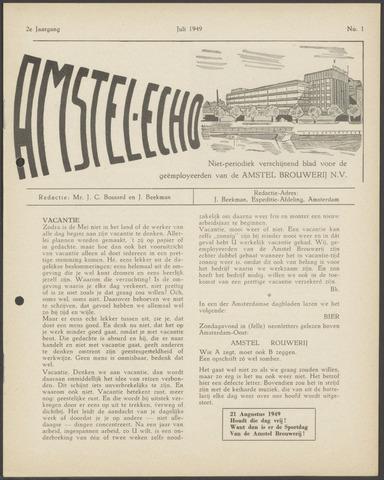Amstel - Echo 1949-07-01