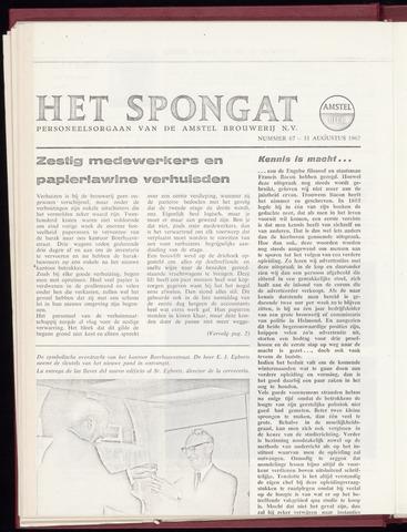 Amstel - Het Spongat 1967-08-31