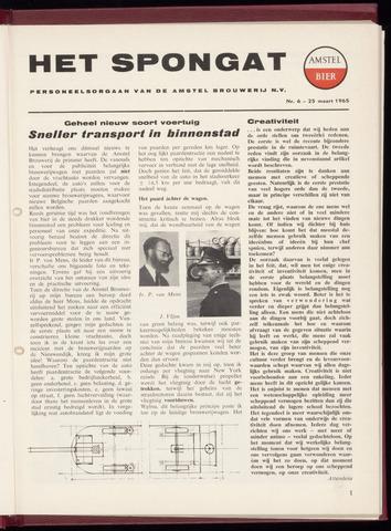 Amstel - Het Spongat 1965-03-25