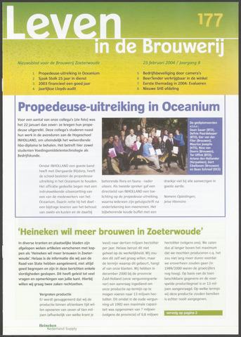 Heineken - Leven in de Brouwerij 2004-02-25