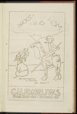Sportclub H.B.M. Clubnieuws 1940-12-01