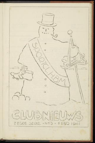 Sportclub H.B.M. Clubnieuws 1941-02-01