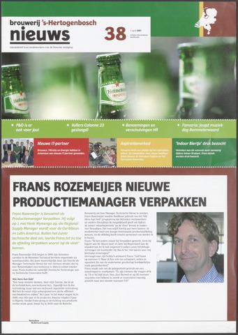 Heineken Brouwerij Nieuws 2007-04-05