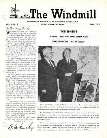The Windmill 1959-04-01