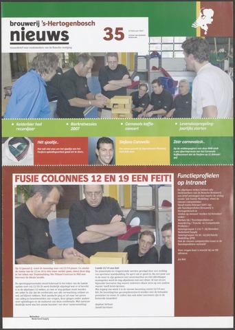 Heineken Brouwerij Nieuws 2007-02-22