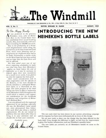 The Windmill 1959-08-01