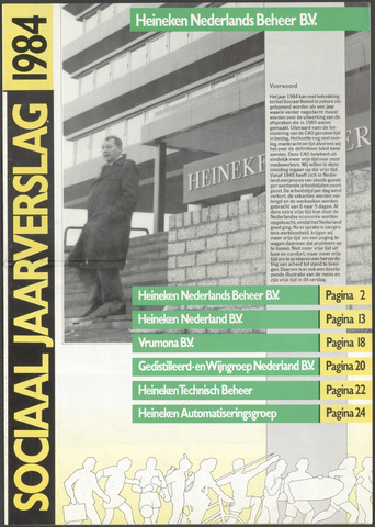 Heineken - Sociaal Jaarverslag 1984-01-01