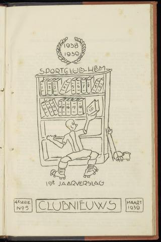 Sportclub H.B.M. Clubnieuws 1939-03-01
