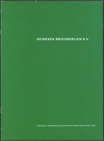 Heineken - Sociaal Jaarverslag 1973-01-01